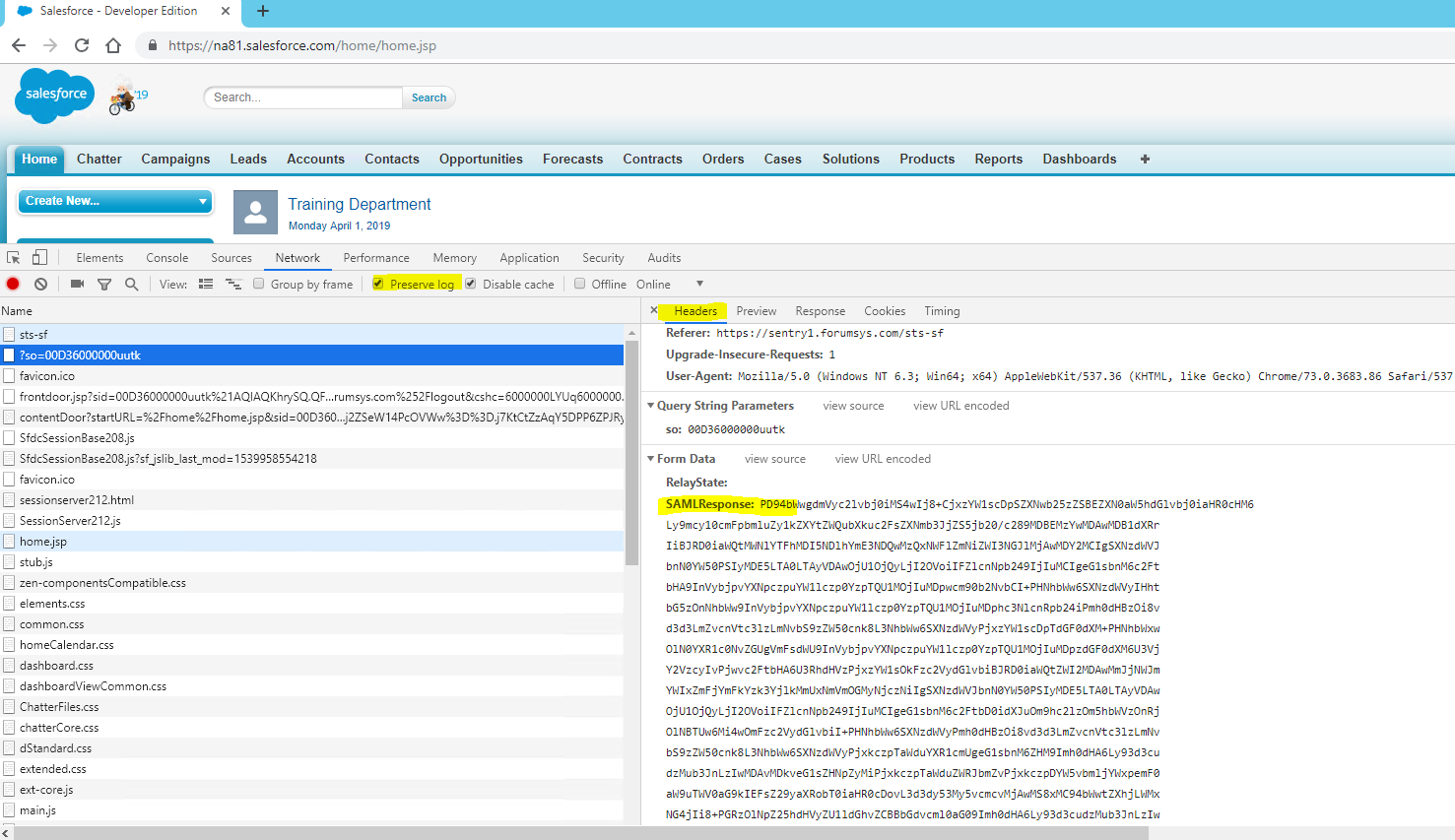 Troubleshooting SAML SSO - How to View a SAML Response with